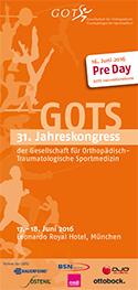 31. Jahreskongress der GOTS – 17.-18. Juni 2016 – Leonardo Royal Hotel München