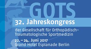 32. Jahreskongress der GOTS – 22.-24. Juni 2016 – Grand Hotel Esplanade Berlin